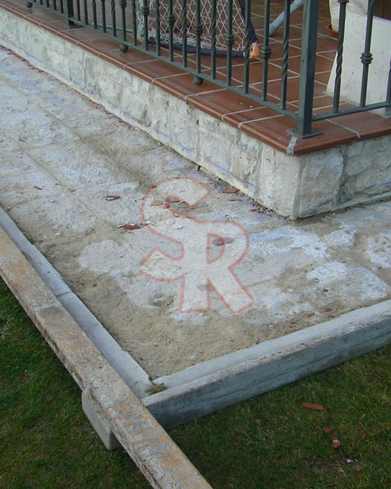 Hormig n impreso suelo rustic for Hormigon para pavimentos